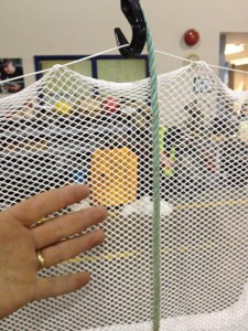 .5 inch stretched Mesh