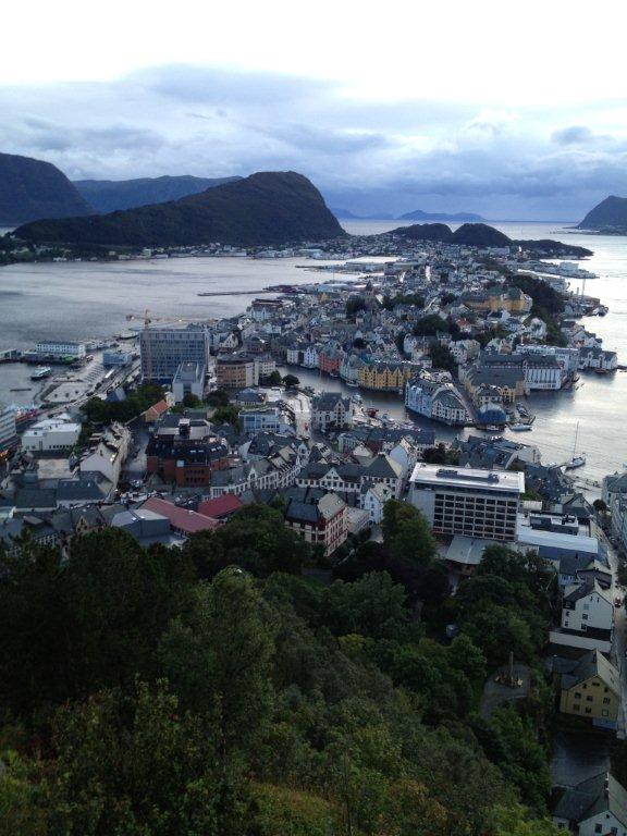 Alesund - Location of Home Office