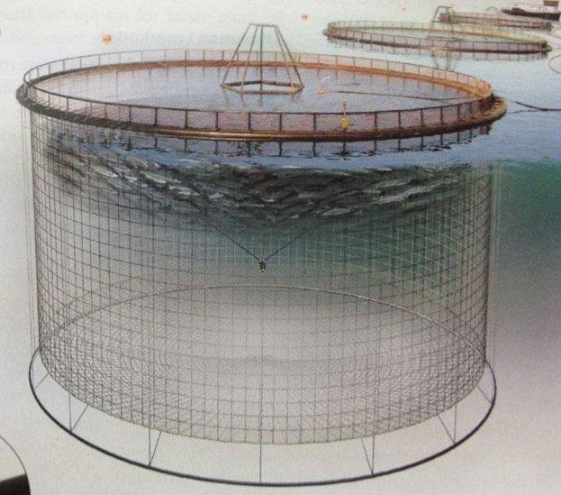 Circular-Farm-Cage-system