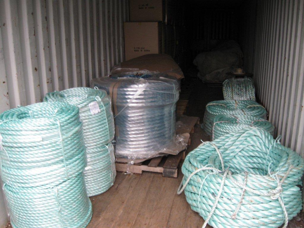 Large Diameter Mooring Ropes