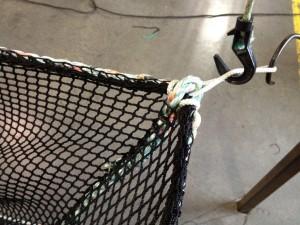Small Net Corner Loop Detail