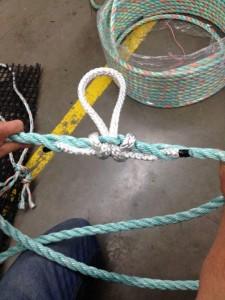 Tucked Loop Detail
